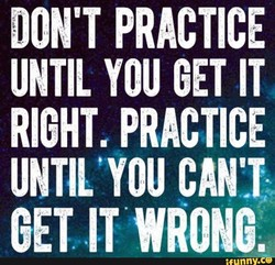 DON'T PRACTICE 