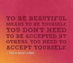 MEANS ro BE YOURSELF. 