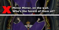Mirror Mirror, on the wall. 
