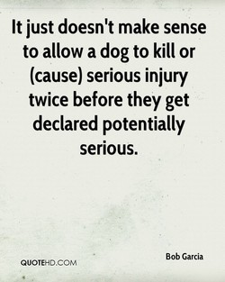 It just doesn't make sense 