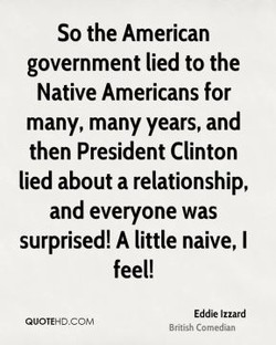 So the American 