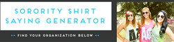 SORORITY SHIRT 