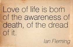 Love of life is born 