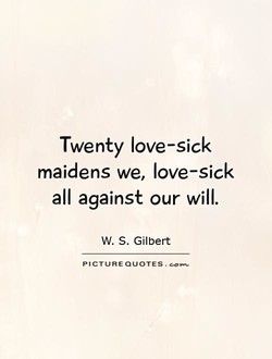 Twenty love-sick 