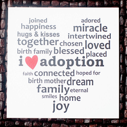 joined happiness adored miracle hugs & kisses intertwined together chosen loved birth family blessed placed i V adoption faith connected hoped for birth motherdream familyeternal smiles home joy