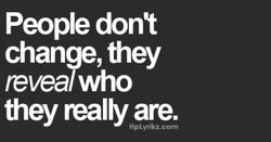 People dont 