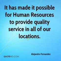 It has made it possible 