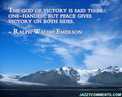 ftHEGOD' OF.VJCTORY IS SAID TObÉ,« 