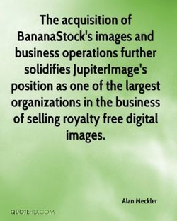 The acquisition of 