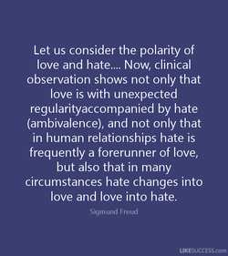 Let us consider the polarity of 
