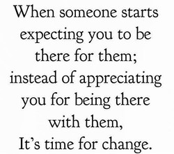 When someone starts 