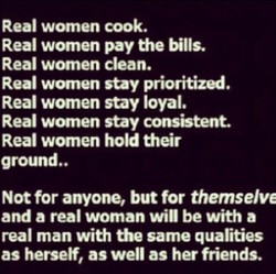 Real women cook. 
