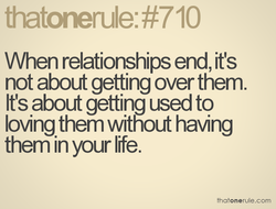 When relationships end, it's 