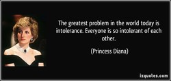 The greatest problem in the world today is 