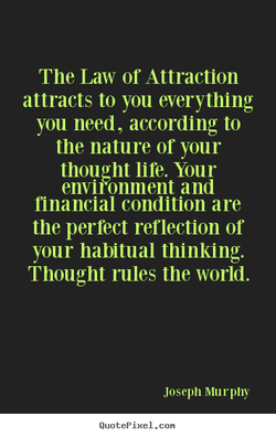 The Law or Attraction 
