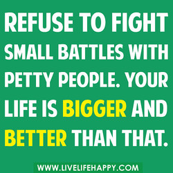 REFUSE TO FIGHT 