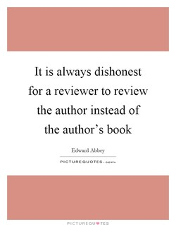 It is always dishonest 