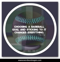 CHOOSNG A BASEBALL 