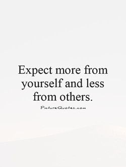 Expect more from 