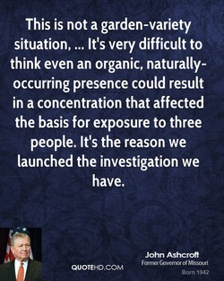 This is not a garden-variety 