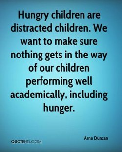 Hungry children are 