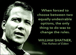 When forced to 