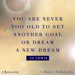 YOU ARE NEVER 