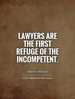 LAWYERS ARE 