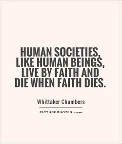 HUMAN SOCIETIES 