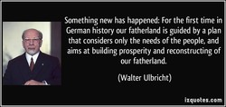 Something new has happened: For the first time in 