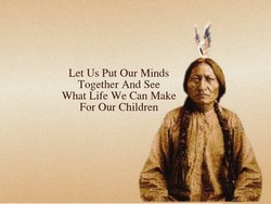 Let Us Put Our Minds 
