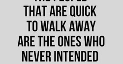 THAT ARE QUICK 