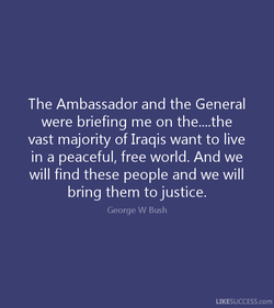 The Ambassador and the General 