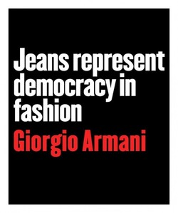 Jeans represent 