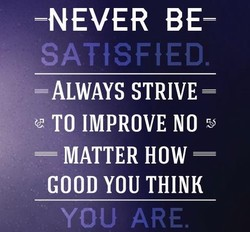 -NEVER BE- 