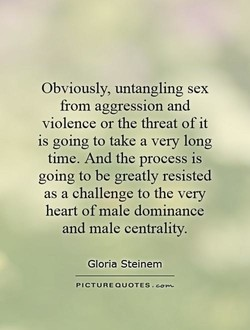Obviously, untangling sex 