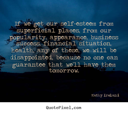 get Ouye self-esteem from 