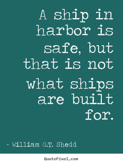 A ship in 