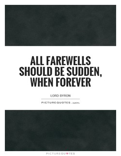 ALL FAREWELLS 