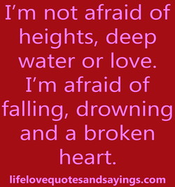 11m not afraid of 