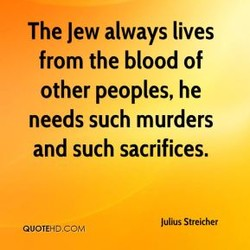 The Jew always lives 