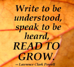Write to be 