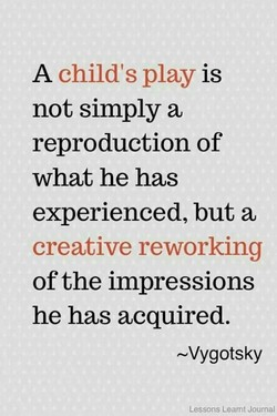 A child's play is 