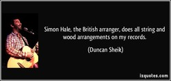 Simon Hale, the British arranger, does all string and 