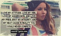 LOVE MY ATTITUDE, LOVE MY VIB 