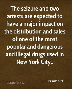 The seizure and two 
