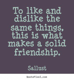 To like and 