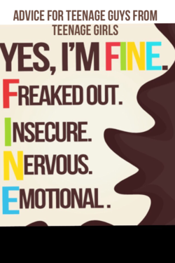 ADVICE FOR TEENAGE GUYS FROM 