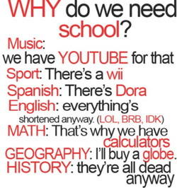 Y do we need 