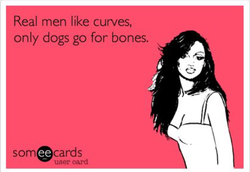 Real men like curves, 